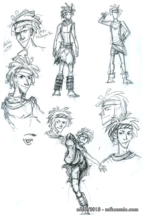 Character Design Help : M f k character derping